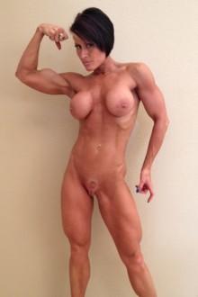 Naked female bodybuilder briana fucks her boyfriend - 2 part 4