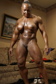 Naked female bodybuilder muscle fucking cumshot 10