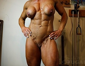 Female Muscle Cougars Photos
