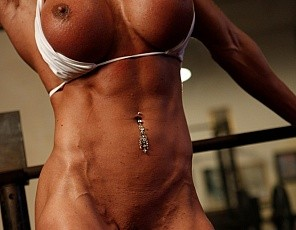 Female Muscle Porn Star Leena