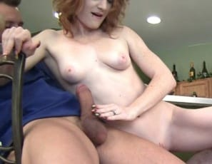 Female muscle porn star Lucy Fire gives one man a hand job and the other a calf job while they worship the muscles of her biceps, legs, glutes and abs. Then she switches around to work the other leg. That's muscle sex dedication.