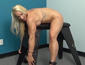 No matter what professional female bodybuilder Jill Jaxen does, she always finds a way to show off her amazing physique. It should be no surprise that she loves to show us her big biceps, her vascular forearms and powerful legs. We also get to enjoy her lovely gluten and sexy tattoos. We love you Jill!