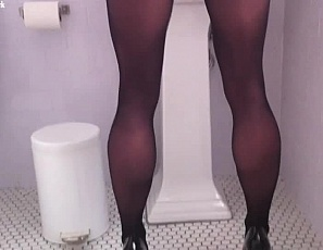 Your home movie of her glutes, legs and calves in sheer pantyhose is going well as you give her muscle worship, masturbate her wet pussy, get her excited with the head of your cock, then cum all over her sexy, muscular legs. Good thing you remembered to shoot the female muscle sex in close-up so you can enjoy it even when she's not there.