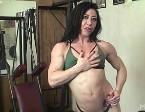 We love naked female bodybuilders as much as you do. In fact, we've made then our focus. Bringing incredibly ripped and sexy FBB's to the world is a joy. and when they are as special as Carmin Blue it's pure pleasure. She has a physique to die for, a beautiful face, and look at that big clit! We look forward to see much more from Carmin Blue.