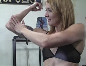 Sexy Charlotte is in the gym, once again accompanied by her POV admirer. This video features Charlotte so you know all about her amazing physique, perfect glutes, and sexy tattoos. However, you might want to stick around until the end of this one - Charlotte finds a creative way to use gym equipment for masturbation. Very sexy.
