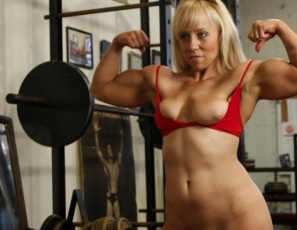 Bodybuilder genie nude photos